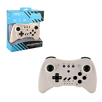 Wii U Wireless Pro Controller White TTX TECH - Nintendo Wii U