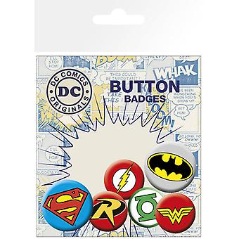 DC Comics logoer Badge Pack