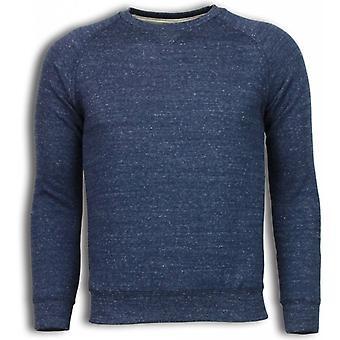 Basic Fit Crewneck-Sweatshirt-Navy