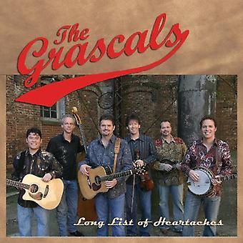 Grascals - Long List of Heartaches [CD] USA import