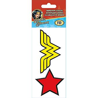 Embroidered Stickers - Wonder Woman - Stationery New st3037