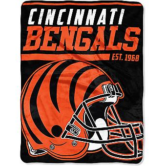 Northwest NFL Cincinnati Bengals micro pluche deken 150x115cm