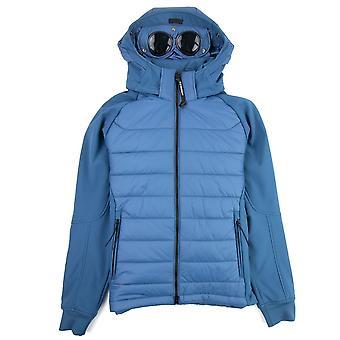 CP Company Padded Half Soft Shell Jacket Dark Denim 879