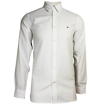 Tommy hilfiger men's bright white slim 4 way stretch shirt