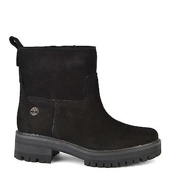 Timberland Women ' s Courmayeur Valley bota de couro preto