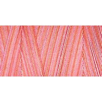 Star Mercerized Cotton Thread Variegated 1200 Yards Coral Reef V38 834