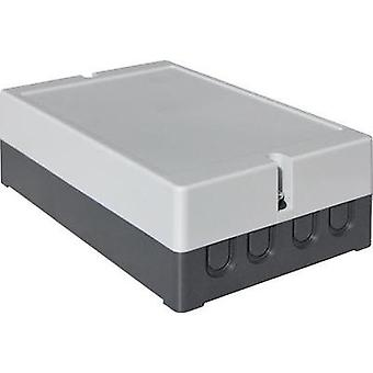 Wall-mount enclosure 190 x 115 x 60 Polystyrene (EPS) Light grey Axxatronic CO 10 1 pc(s)