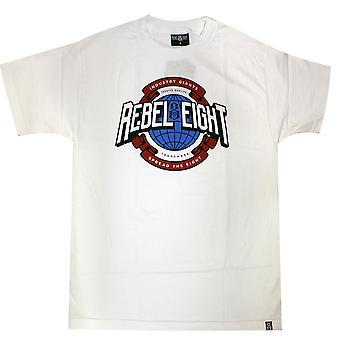 Rebel8 Industry Giant T-Shirt White