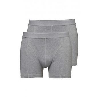 Ten Cate Men Short Two Pack Grey   (30225)