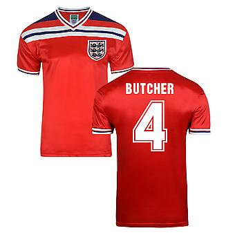 Score Draw Angleterre World Cup 1982 maillot (Butcher 4)