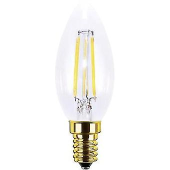 LED (monochrome) Segula 230 V E14 3.5 W = 20 W Warm white EEC: A+ Candle (Ø x L) 35 mm x 98 mm Filament, dimmable 1 pc(s