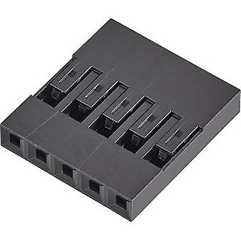 Socket enclosure - cable Mini-PV Total number of pins 6 FCI 65039-031ELF Contact spacing: 2.54 mm 1 pc(s)