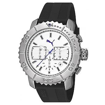 PUMA montre poignet mens watch Chrono Galant silicone PU103561002