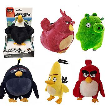 Angry Birds Themed Character Large Plush Keychain/Teddy
