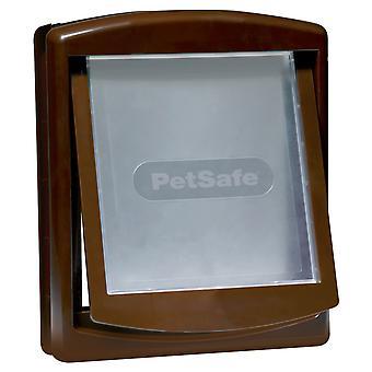 Staywell Original 2 måde Pet Door brun Medium