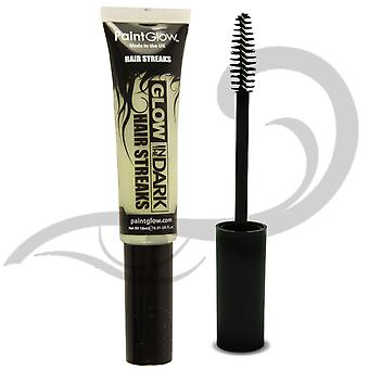 Paintglow Glow In The Dark Hair Streaks Mascara Invisible Clear