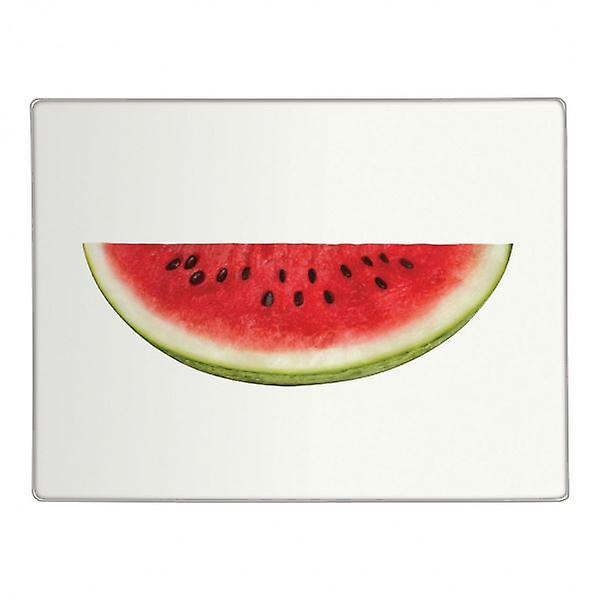 Half Water Melon Design Glass Worktop Saver Kitchen Chopping Cutting Board
