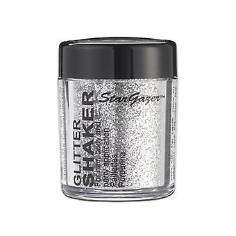 Glitter Shaker sølv