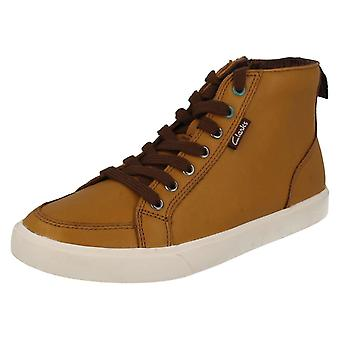 Jungen-Clarks-lässige Ankle-Boots Club Jive
