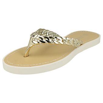 Damer Savannah sandaler Post med øverste detaljer