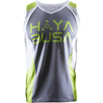 Hayabusa Stacked Sleeveless Performance Jersey - Gray/Green