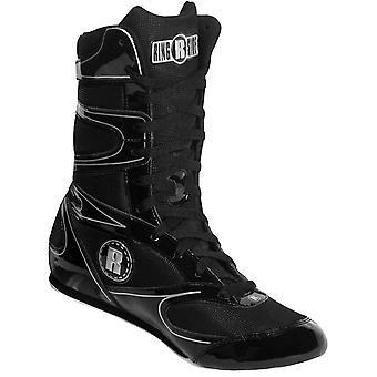 Ringside Hi-Top ubesejret boksning sko - sort