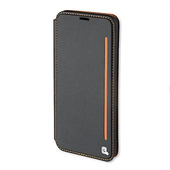 4smarts flip Pocket TWO TONE for Samsung Galaxy S8 G950 G950F sleeve case pouch black orange