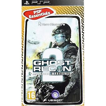 Ghost Recon Advanced Warfighter 2 vesentlige Edition Sony PSP spill