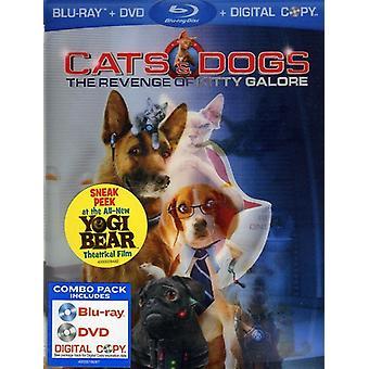 Chats chiens & 2: La revanche de Kitty Galore [BLU-RAY] USA import