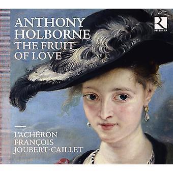 L'Acheron & Francois Joubert - Anthony Holborne: The frugt af kærlighed [CD] USA import