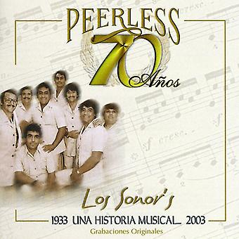 Los Sonor's - 70 Anos Peerless Una Historia Musical [CD] USA import