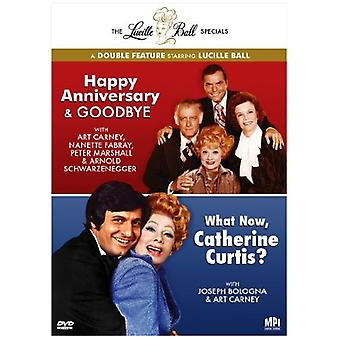 Lucille Ball - Lucille Ball Specials: Happy Anniversary & adjö/vad nu, Catherine Curtis? [DVD] USA import
