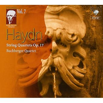 J. Haydn - Haydn: String Quartets, Op. 17 [CD] USA import