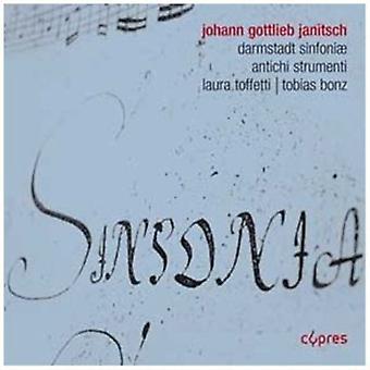 Antichi at - Johann Gottlieb Janitsch: Darmst Dter Sinfonien [CD] USA import