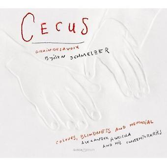Cecus-farver blindhed & Memorial - Cecus: Farver, Blindess og Memorial [CD] USA importerer