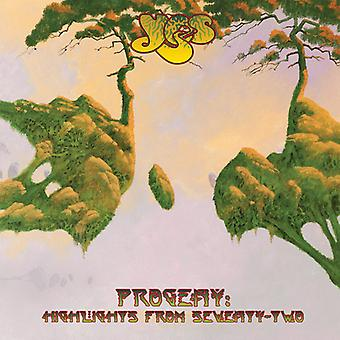 Yes - Progeny: Highlights From Seventy-Two [CD] USA import
