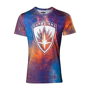 Guardians Vol 2 All-Over Galaxy T-Shirt - Multi-Colour S Size (TS571037GOG-S)