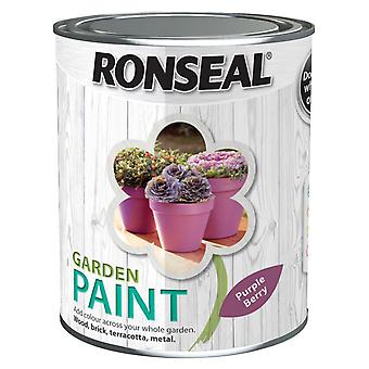 Ronseal tuin verf 2,5 L - Purple Berry