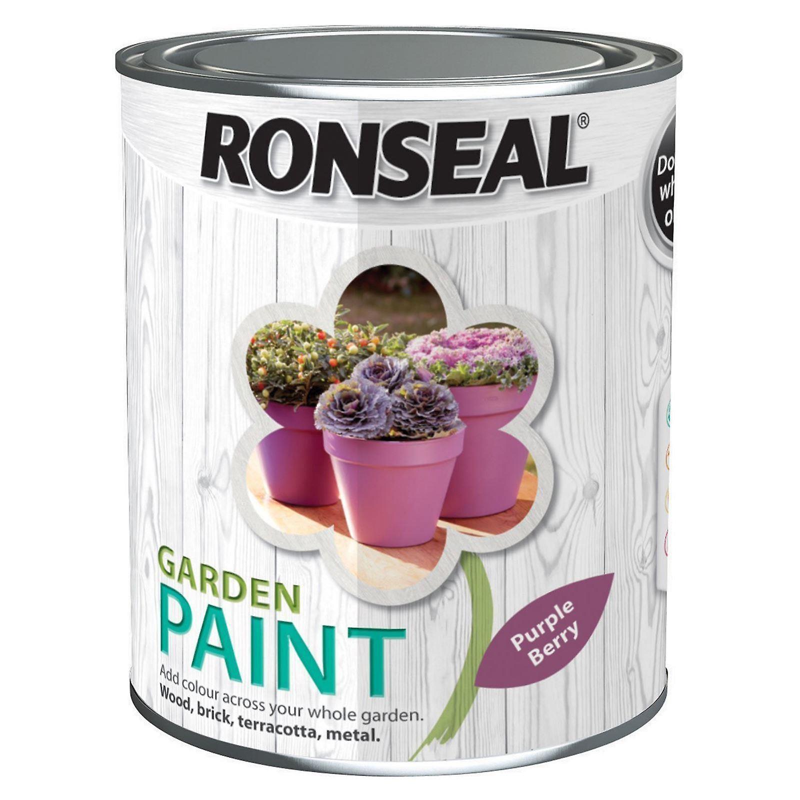 Ronseal Garden Paint 2.5L - Purple Berry