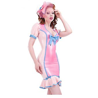 Westward Bound Bon Bon Femme Latex Rubber Dress.