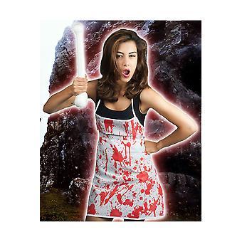 Halloween och skräck blodigt förkläde