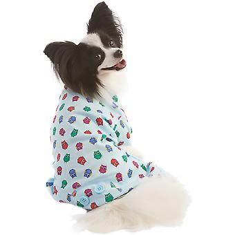 Owl Print Dog Pj's-Blue Extra Small 200333