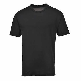 Portwest - BaseLayer ullundertøy arbeid-Sport kort erme T-Shirt toppen