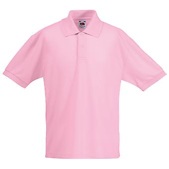 Fruit Of The Loom Childrens/Kids Unisex 65/35 Pique Polo Shirt