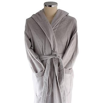 Bown of London Azealia Luxury Long Dressing Gown - Lilac Grey