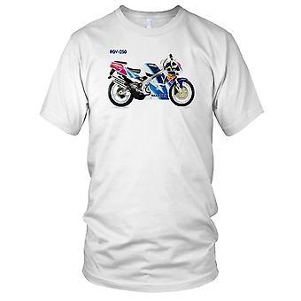 2 course classique moto moto motard dames T Shirt de sport Suzuki RGV250