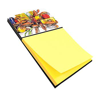 Veron's and Crabs Refiillable Sticky Note Holder or Postit Note Dispenser