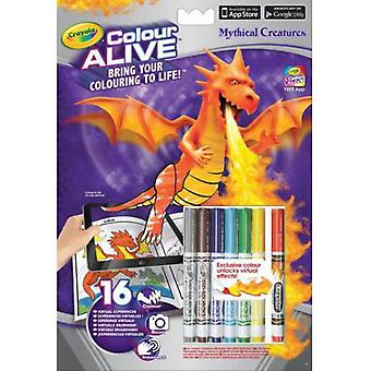 Crayola Castles and Dragons Color Alive