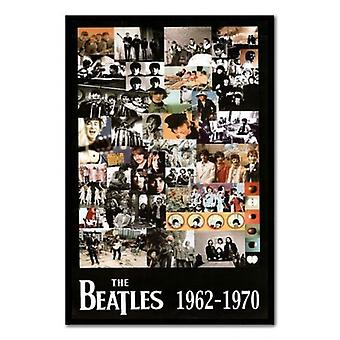 Beatles Collage Poster Poster Print