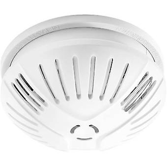 Smoke detector network-compatible FlammEx 3026 battery-powered